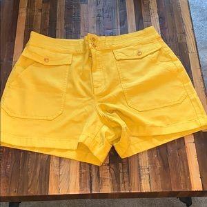 NWOT JCrew Garment Dyed Officer short